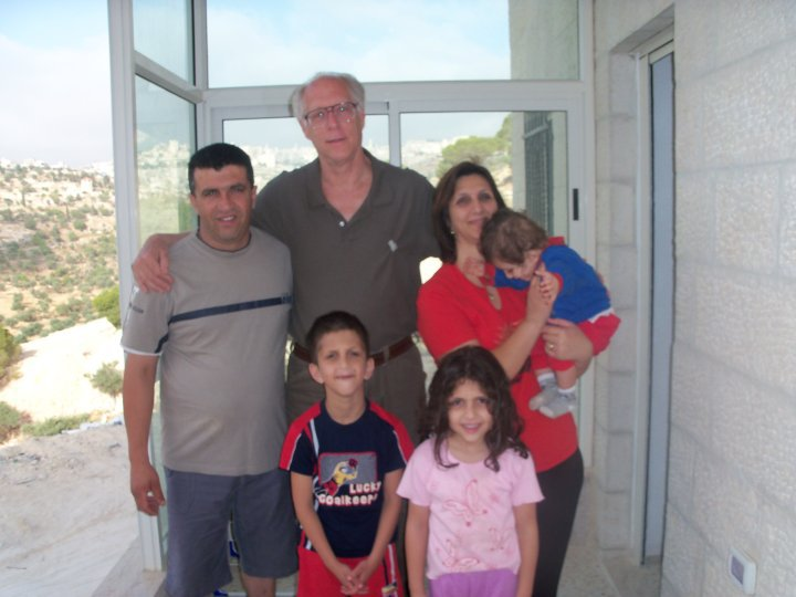 With Friends in Beit Sahour, West Bank