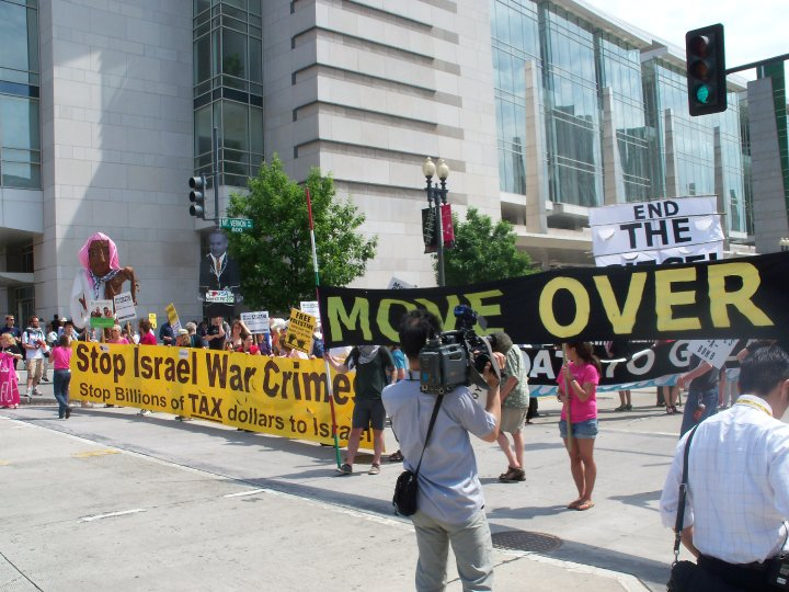 Counter AIPAC Demonstration